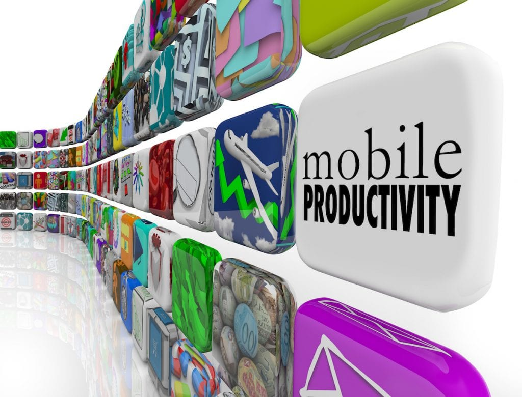 mobile productivity apps