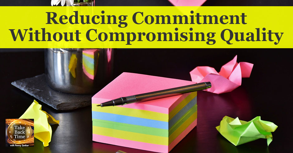 TBT 19 | Reducing Commitment