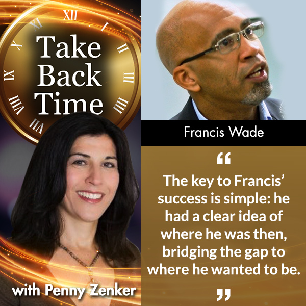 Escape Overwhelm, Francis Wade, Penny Zenker, Perfect Time-Based Productivity To Escape Overwhelm With Francis Wade, Take Back Time, time management, time-based productivity, tug of war with time