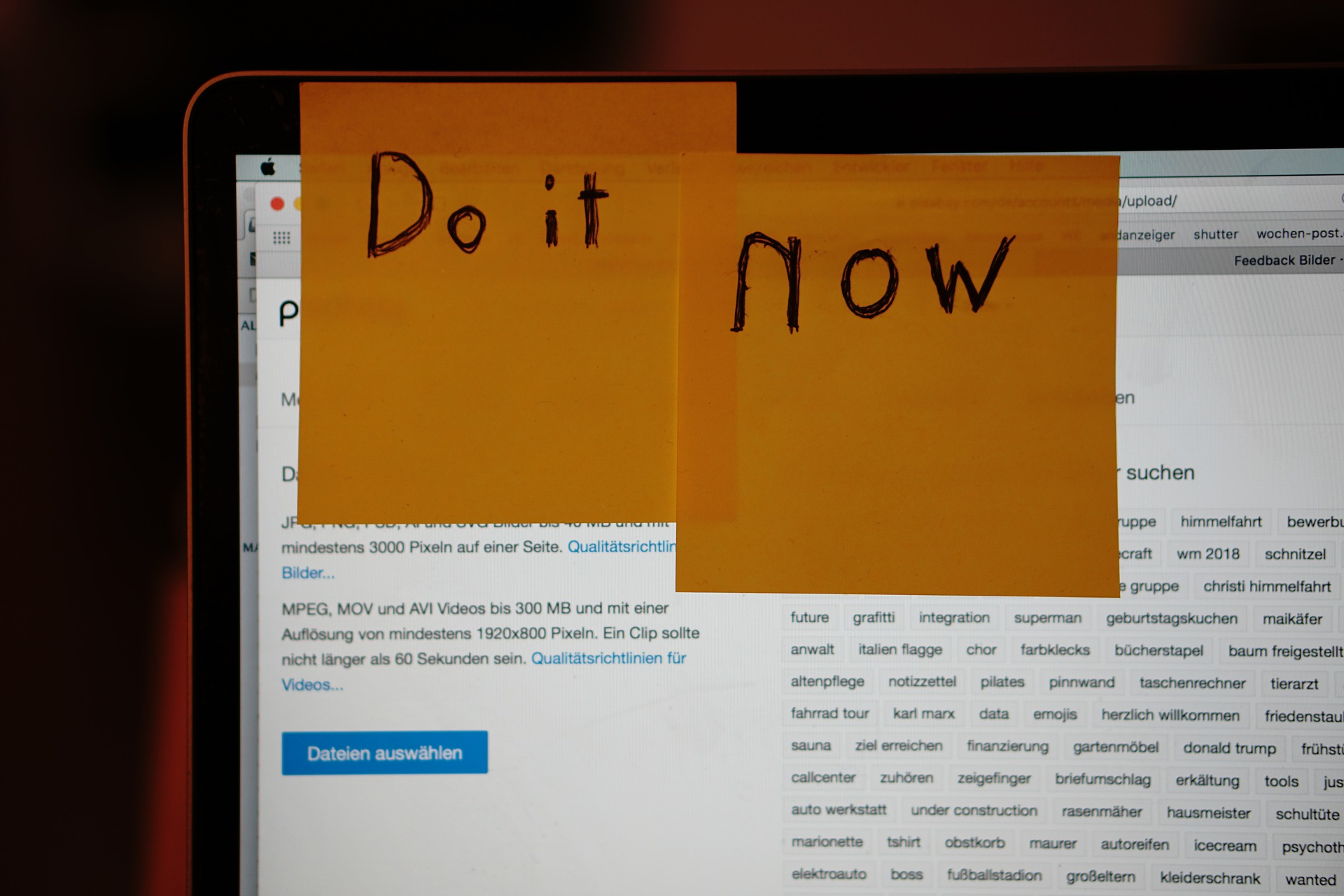 post it notes reminders